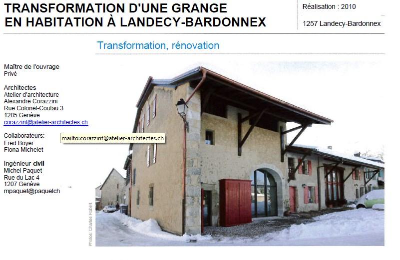 Transformation d une grange en habitation cg cuisines - Rehabilitation d une grange en habitation ...